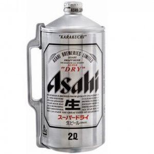 Bia Asahi Bom 2 Lít