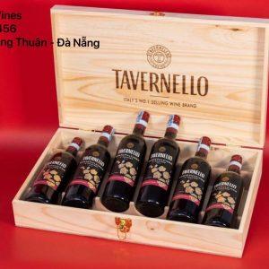 Hộp Quà Vang Ý Tavernello Set 6 Chai Sang Trọng