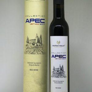 Rượu Vang Đà Lạt APEC 2017 (nhãn Xanh)