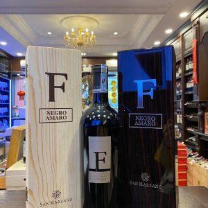 Rượu Vang Ý F NEGROAMARO Thượng Hạng